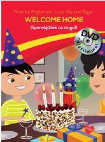 WELCOME HOME - GYEREKJÁTÉK AZ ANGOL! - DVD-VEL - Ekönyv - CENTRAL MÉDIACSOPORT (SANOMA)