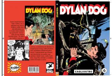 DYLAN DOG 6. - CAGLIOSTRO! - Ekönyv - FRIKE COMICS KFT.