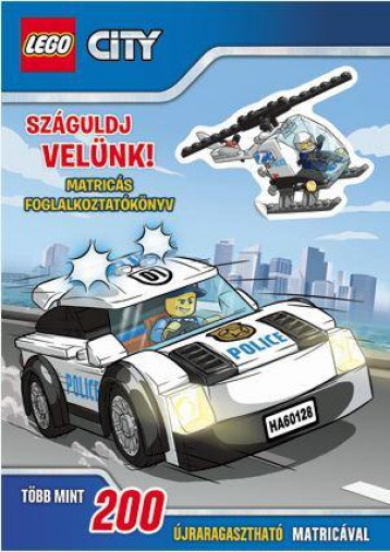 SZÁGULDJ VELÜNK! - MATRICÁS FOGL. - LEGO CITY - Ekönyv - MÓRA KÖNYVKIADÓ