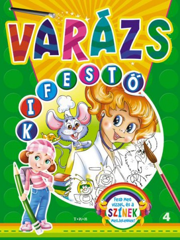 VARÁZS KIFESTŐ 4. - UFÓK - Ekönyv - TKK