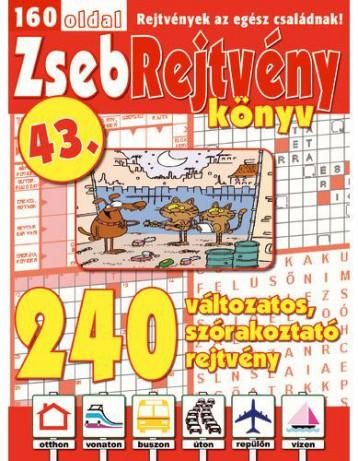ZSEBREJTVÉNY KÖNYV 43. - Ekönyv - CSOSCH BT.