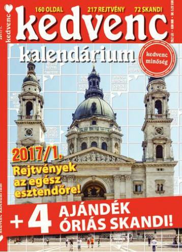 KEDVENC KALENDÁRIUM 2017/1. - Ekönyv - CSOSCH BT.