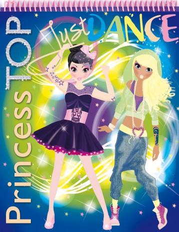 PRINCESS TOP - JUST DANCE (BLUE) - Ekönyv - NAPRAFORGÓ KÖNYVKIADÓ