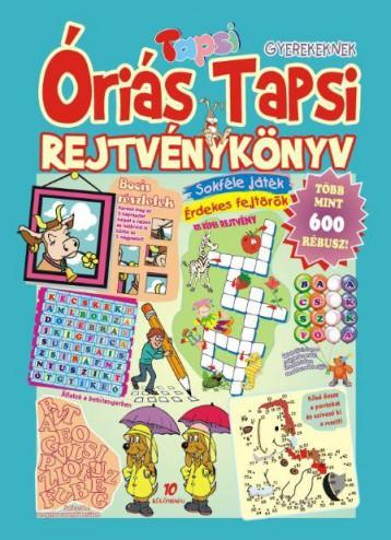 ÓRIÁS TAPSI - REJTVÉNYKÖNYV - Ekönyv - LAPU BT.