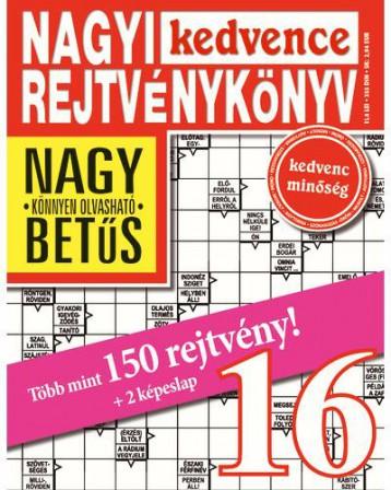 NAGYI KEDVENCE REJTVÉNYKÖNYV 16. - Ekönyv - CSOSCH BT.
