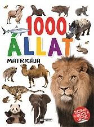 1000 ÁLLAT MATRICÁJA - FEHÉR - Ekönyv - NAPRAFORGÓ KÖNYVKIADÓ