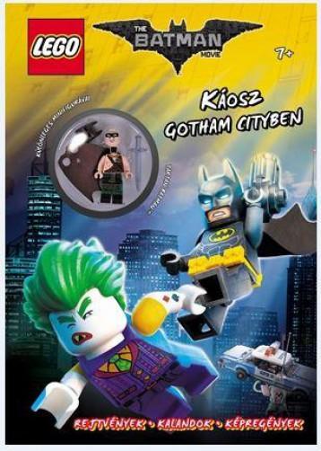 KÁOSZ GOTHAM CITYBEN - LEGO THE BATMAN MOVIE (AJÁNDÉK MINIFIGURÁVAL) - Ekönyv - MÓRA KÖNYVKIADÓ