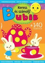 BUBIK - KERESS ÉS SZÁMOLJ! - KÉSZSÉGFEJLESZTŐ FOGLALKOZTATÓ +140 MATRICA - Ekönyv - CSENGŐKERT KIADÓ
