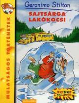 SAJTSÁRGA LAKÓKOCSI - Ekönyv - STILTON, GERONIMO