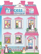PRINCESS TOP - VICTORIAN HOUSE (BLUE) - Ekönyv - NAPRAFORGÓ KÖNYVKIADÓ
