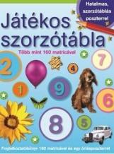 JÁTÉKOS SZORZÓTÁBLA - MATRICÁVAL ÉS POSZTERREL - Ekönyv - MÓRA KÖNYVKIADÓ