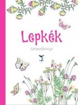 LEPKÉK - SZÍNEZŐKÖNYV - Ekönyv - LEVITER KIADÓ