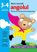MOST TANULOK ANGOLUL (3-4 ÉVESEKNEK) - Ekönyv - NAPRAFORGÓ KÖNYVKIADÓ