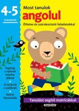 MOST TANULOK ANGOLUL (4-5 ÉVESEKNEK) - Ekönyv - NAPRAFORGÓ KÖNYVKIADÓ