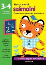 MOST TANULOK SZÁMOLNI (3-4 ÉVESEKNEK) - Ekönyv - NAPRAFORGÓ KÖNYVKIADÓ