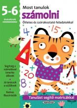 MOST TANULOK SZÁMOLNI (5-6 ÉVESEKNEK) - Ekönyv - NAPRAFORGÓ KÖNYVKIADÓ