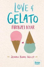 LOVE & GELATO - FIRENZEI NYÁR - Ekönyv - EVANS WELCH, JENNA
