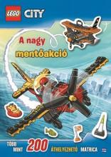 LEGO CITY - A NAGY MENTŐAKCIÓ – MATRICÁS FOGLALKOZTATÓ - Ekönyv - .