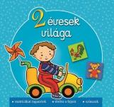 2 ÉVESEK VILÁGA - MATRICÁKAT RAGASZTOK, TÖRÖM A FEJEM, SZÍNEZEK - Ekönyv - AKSJOMAT KIADÓ KFT.