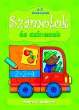 SZÁMOLOK ÉS SZÍNEZEK - MATRICÁS GYAKORLÓ 6-7 ÉVESEKNEK - Ekönyv - AKSJOMAT KIADÓ KFT.