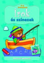 ÍROK ÉS SZÍNEZEK - MATRICÁS GYAKORLÓ 5-6 ÉVESEKNEK - Ekönyv - AKSJOMAT KIADÓ KFT.