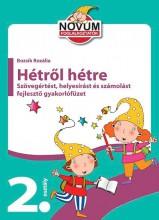 HÉTRŐL HÉTRE - GYAKORLÓFÜZET 2. OSZTÁLY - Ekönyv - YOYO BOOKS