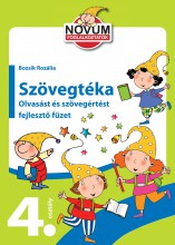 SZÖVEGTÉKA - OLVASÁST ÉS SZÖVEGÉRTÉST FEJLESZTŐ FÜZET 4. OSZTÁLY - Ebook - NOVUM KÖNYVKLUB/YOYO BOOKS