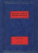 KÖLCSEY FERENC MINDEN MUNKÁI - LEVELEZÉS V. 1837-1838 - Ekönyv - SZABÓ G. ZOLTÁN