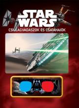 STAR WARS - CSILLAGVADÁSZOK ÉS CSATAHAJÓK (3D-S SZEMÜVEGGEL) - Ekönyv - KOLIBRI GYEREKKÖNYVKIADÓ KFT.