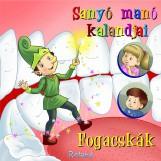 SANYÓ MANÓ KALANDJAI - FOGACSKÁK - Ekönyv - HABO MÁRTA