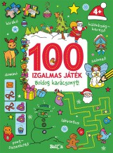 100 IZGALMAS JÁTÉK - BOLDOG KARÁCSONYT! - Ekönyv - KOLIBRI/LIBRI KÖNYVKIADÓ KFT