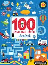 100 IZGALMAS JÁTÉK - JÁRMŰVEK - Ekönyv - KOLIBRI/LIBRI KÖNYVKIADÓ KFT