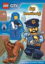 LEGO CITY - ÁLLJ! RENDŐRSÉG! + AJÁNDÉK MINIFIGURÁVAL - Ekönyv - MÓRA KÖNYVKIADÓ