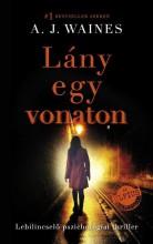 LÁNY EGY VONATON - Ekönyv - WAINES, A.J.