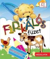 FIRKÁLÓS FÜZET - HÁZIÁLLATOK - Ekönyv - DEÁKNÉ B. KATALIN