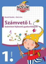 SZÁMVETŐ I. - SZÁMÍRÁST FEJLESZTŐ GYAKORLÓLAPOK - Ekönyv - BOZSIK ROZÁLIA