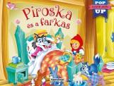 PIROSKA ÉS A FARKAS - ELEVEN MESÉK (POP UP) - Ekönyv - NAPRAFORGÓ KÖNYVKIADÓ