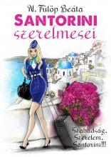 SANTORINI SZERELMESEI - Ekönyv - N. FÜLÖP BEÁTA