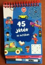 45 JÁTÉK AZ AUTÓBAN - Ekönyv - MÓRA KÖNYVKIADÓ