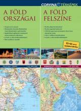 A FÖLD ORSZÁGAI - A FÖLD FELSZÍNE (DUÓTÉRKÉP) - Ekönyv - CORVINA KIADÓ