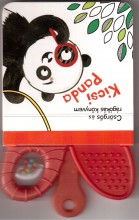 KICSI PANDA - CSÖRGŐS ÉS RÁGÓKÁS KÖNYVEM - Ekönyv - YOYO BOOKS