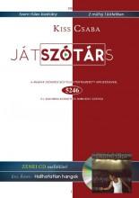 JÁTSZÓTÁRS - ZENEI CD MELLÉKLETTEL - Ekönyv - KISS CSABA