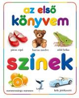 SZÍNEK - AZ ELSŐ KÖNYVEM - Ebook - LEVITER KIADÓ