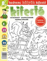 KEDVENC KÖLYÖK KIFESTŐ 8. 2017/8. - Ekönyv - CSOSCH KFT.