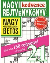 NAGYI KEDVENCE REJTVÉNYKÖNYV 21. - Ekönyv - CSOSCH KFT.