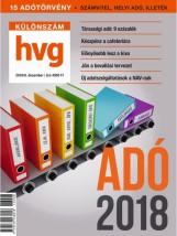 ADÓ 2018 - HVG KÜLÖNSZÁM  (2017/8. DECEMBER) - Ebook - HVG KÖNYVEK
