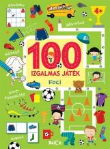 100 IZGALMAS JÁTÉK - FOCI - Ekönyv - KOLIBRI GYEREKKÖNYVKIADÓ KFT.