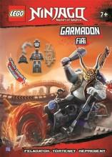 LEGO NINJAGO - GARMADON FIAI + AJÁNDÉK MINIFIGURÁVAL - Ekönyv - MÓRA KÖNYVKIADÓ