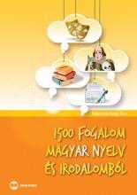 1500 FOGALOM MAGYAR NYELV ÉS IRODALOMBÓL - Ekönyv - PALOTÁSNÉ NAGY ÉVA