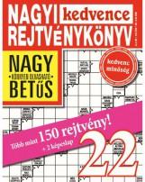 NAGYI KEDVENCE REJTVÉNYKÖNYV 22. - Ekönyv - CSOSCH KFT.